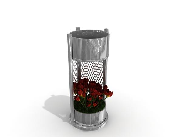 Özel Tasarım Çöp Kovası (OTC-15)