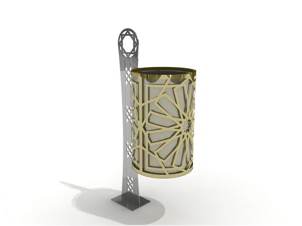 Özel Tasarım Çöp Kovası (OTC-19)