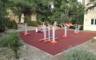 outdoor fitness equipmetns